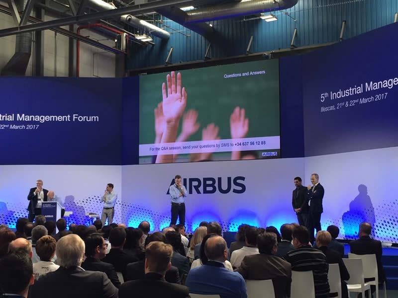 5th Industrial Management Forum de Airbus