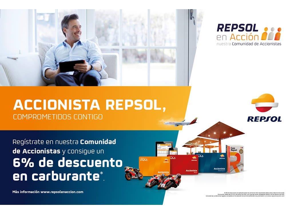 Campaña accionistas Repsol