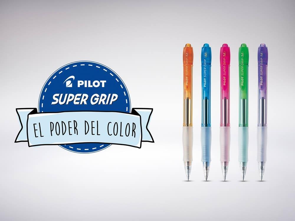Campaña lanzamiento Pilot SuperGrip
