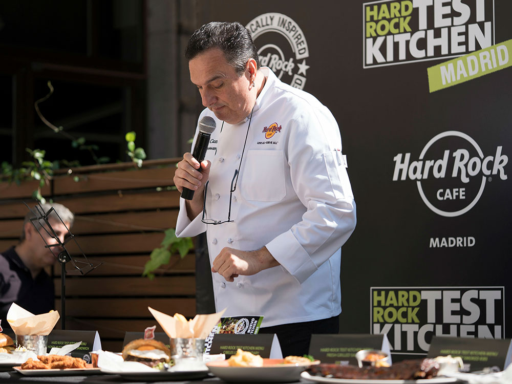 Hard Rock Café Madrid participa en el proyecto Test Kitchen