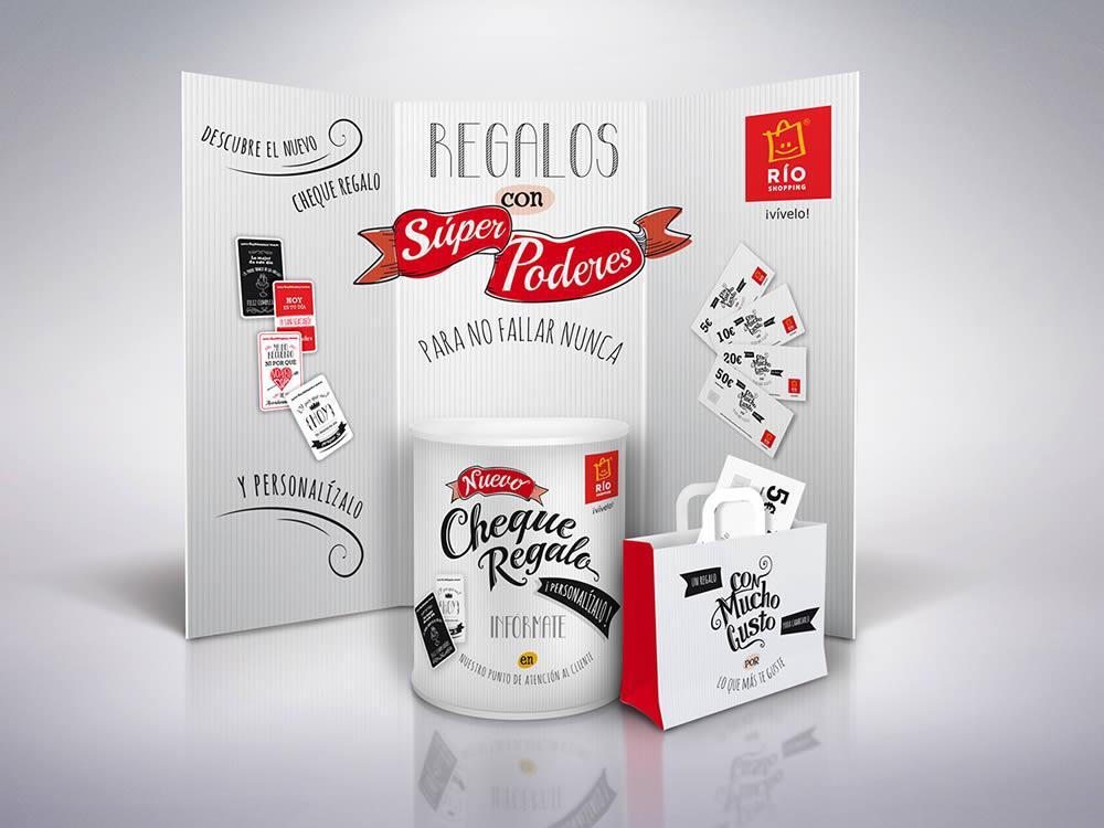 Pack regalo Centro Comercial RÍO Shopping