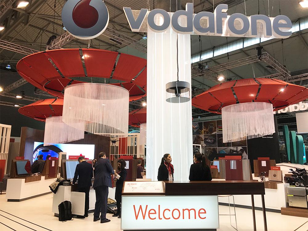 Stand para Vodafone