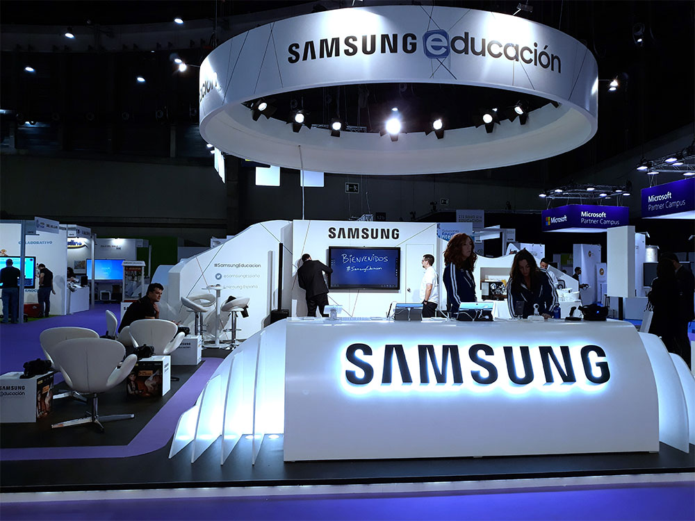 Stand Samsung para SIMO 2017