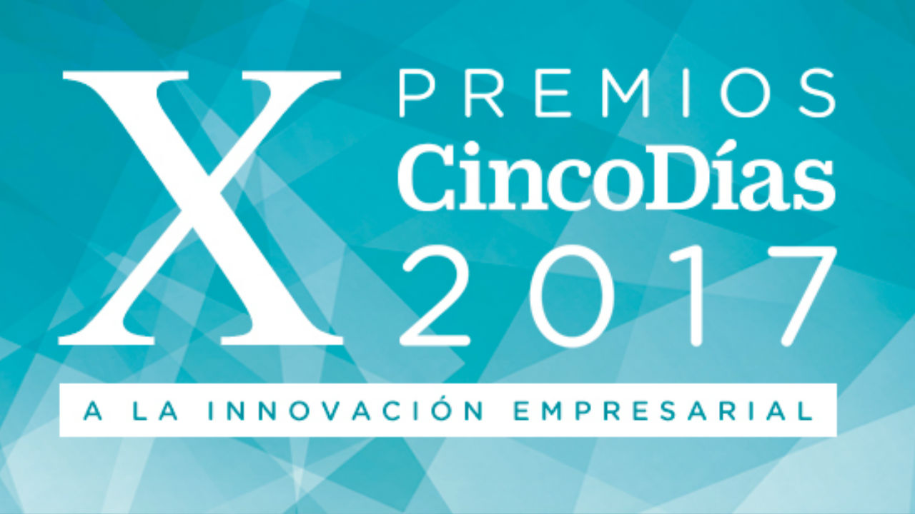 Official Agency at Cinco Días gala awards to corporate innovation